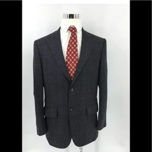 Oscar de la Renta Men's Lambswool  Blazer Size 40R